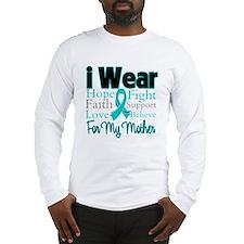 Mother - Ovarian Cancer Long Sleeve T-Shirt