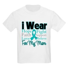 Mom - Ovarian Cancer T-Shirt
