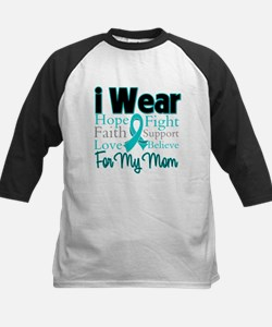 Mom - Ovarian Cancer Tee