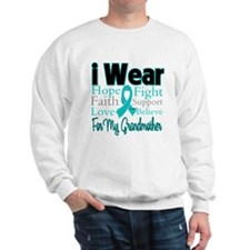 Grandmother Ovarian Cancer Sweatshirt