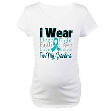 Grandma Ovarian Cancer Shirt