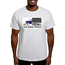 Ice Road Truck Blue T-Shirt