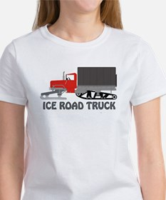 Ice Road Truck Red Women's T-Shirt