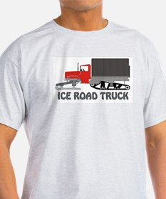Ice Road Truck Red T-Shirt