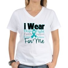 I Wear Teal For Me v3 Shirt