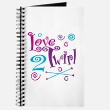 Love 2 Twirl Journal