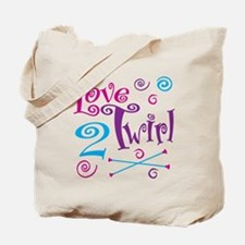 Love 2 Twirl Tote Bag
