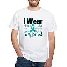 I Wear Teal Best Friend Shirt