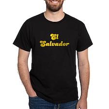 Retro El Salvador (Gold) T-Shirt