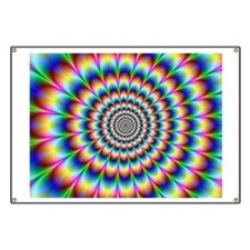 Optical Illusion Banner