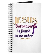 Jesus, Salvation in no other Journal