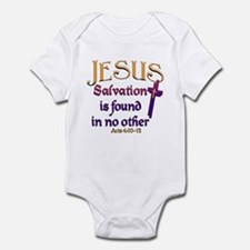 Jesus, Salvation in no other Infant Creeper