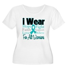 I Wear Teal Warriors v1 T-Shirt