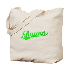 Retro Shyann (Green) Tote Bag