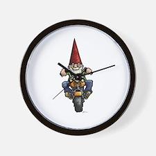 Easy Ridin' Gnome Wall Clock