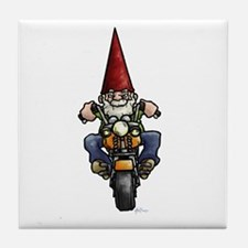 Easy Ridin' Gnome Tile Coaster