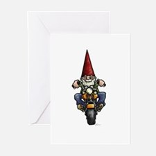 Easy Ridin' Gnome Greeting Cards (Pk of 10)