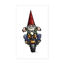 Easy Ridin' Gnome Rectangle Decal
