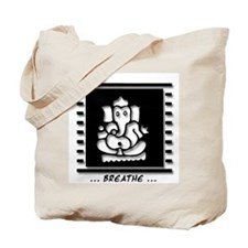 Meditating Ganesh Tote Bag