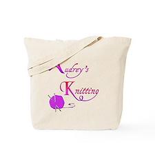 Audrey's Knitting Tote Bag