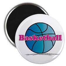 Basketball PkBl Magnet