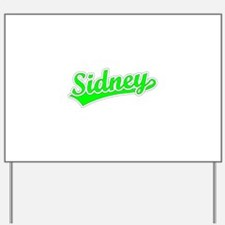Retro Sidney (Green) Yard Sign