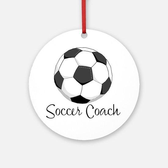 Soccer Coach Keepsake (Round)