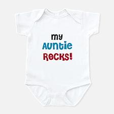 My Auntie Rocks Infant Bodysuit