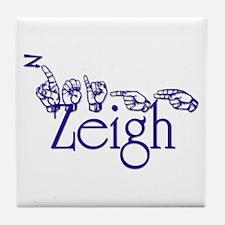 Zeigh Tile Coaster