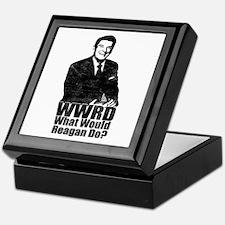 WWRD? - What Would Reagan Do? Keepsake Box