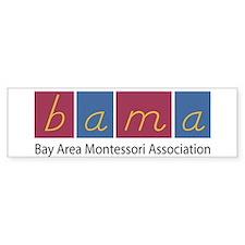 BAMA Bumper Car Sticker