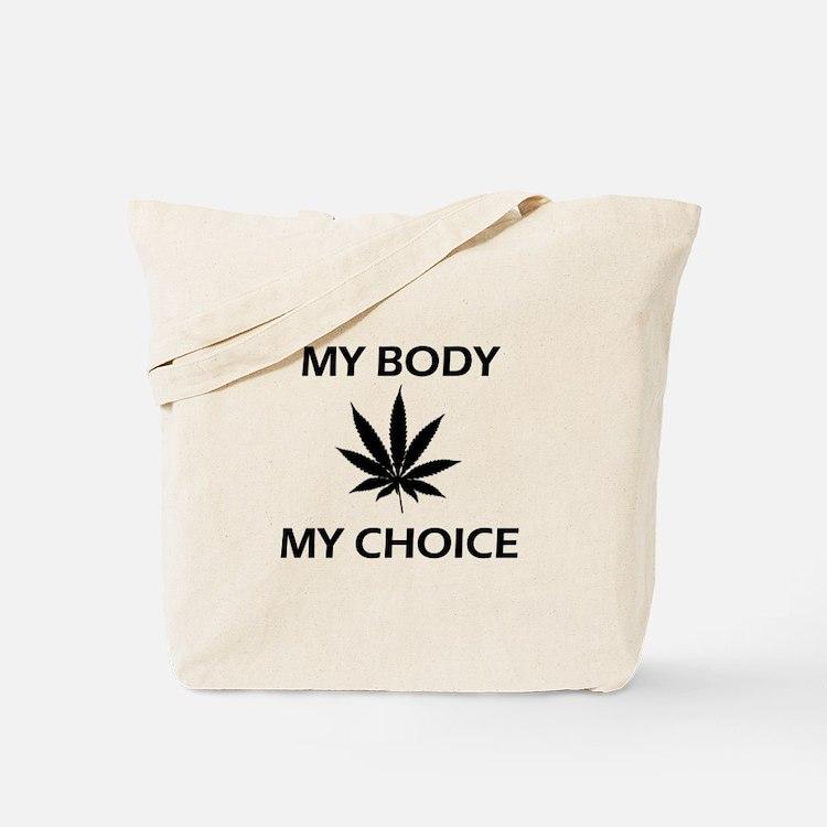 Drug Choice Tote Bag