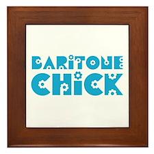 Baritone Chick Framed Tile