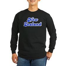 Retro New Zealand (Blue) T