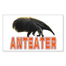 Anteater Rectangle Sticker 10 pk)