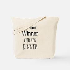 Cool Winner winner chicken dinner Tote Bag