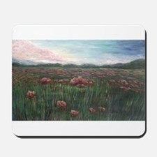 French Poppies Mousepad