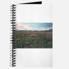 French Poppies Journal
