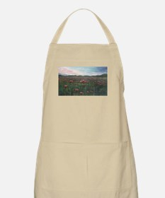 French Poppies BBQ Apron
