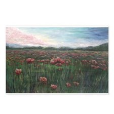 French Poppies Postcards (Package of 8)