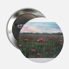 "French Poppies 2.25"" Button"