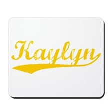 Vintage Kaylyn (Orange) Mousepad