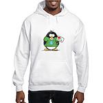 Love the Earth Penguin Hooded Sweatshirt