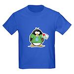 Love the Earth Penguin Kids Dark T-Shirt