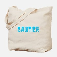 Gautier Faded (Blue) Tote Bag
