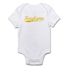 Vintage Kaylynn (Orange) Infant Bodysuit