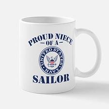Proud Niece Of A US Navy Sailor Mug