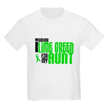 I Wear Lime Green For My Aunt 6 Kids Light T-Shirt