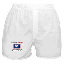 World's Hottest Cowboy Boxer Shorts