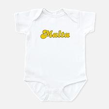 Retro Malta (Gold) Infant Bodysuit